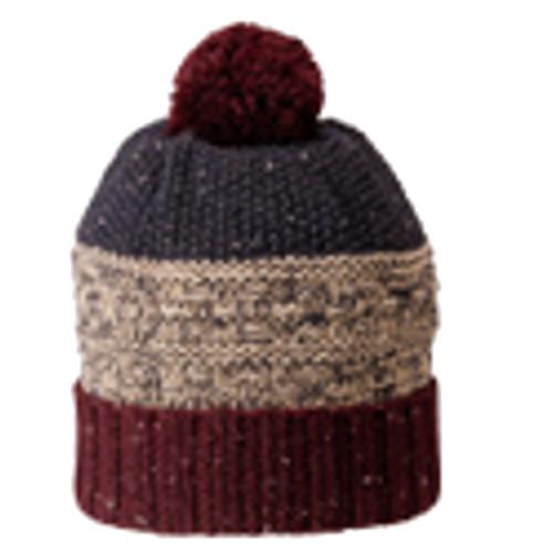 防寒帽子 3段編みワッチ 8516 10枚入 川西工業