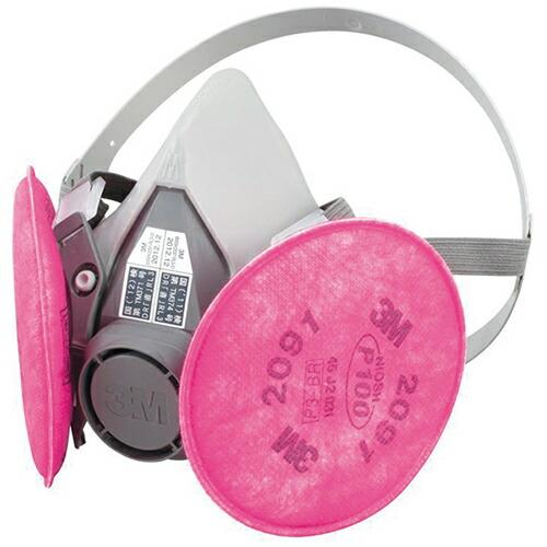 防じんマスク 防塵マスク 6500QL Mサイズ(ろ過材2個入) 2091-RL3-M [送料無料]