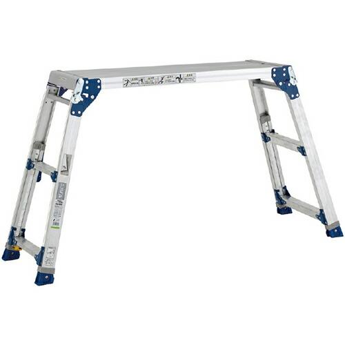 脚伸縮式足場台 最大使用質量:100kg PXGE-1012FX [送料無料]