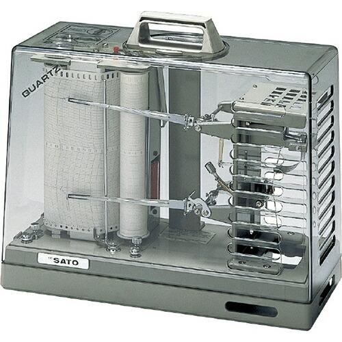 オーロラ90III型温湿度記録計 本体 (1ヶ月用) 7012-20