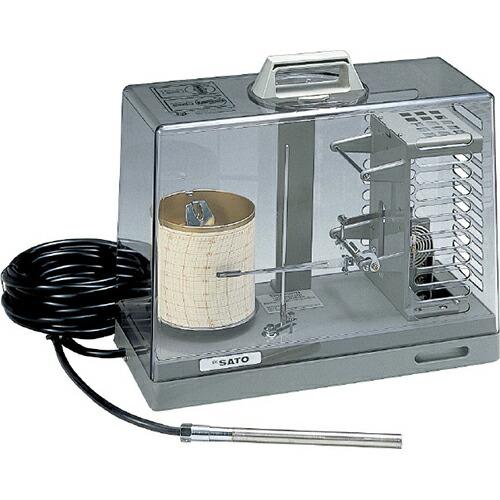 シグマII型隔測温度記録計 本体 (1針式) 7200-00