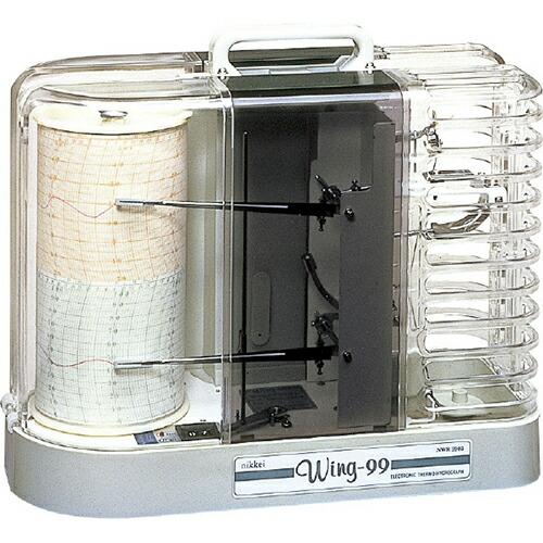 Wing-99(温湿度記録計) 本体(温・湿度記録型) NWR-9903 [送料無料]