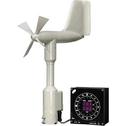 【送料無料】デジタル指示風向風速計 社内検定付 No.30-420-DG-24