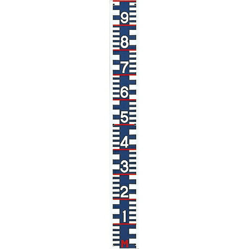 【送料無料】勾配量水標(鋼板メラミン焼付塗装・I型形状のみ) 2割勾配 WLK-20