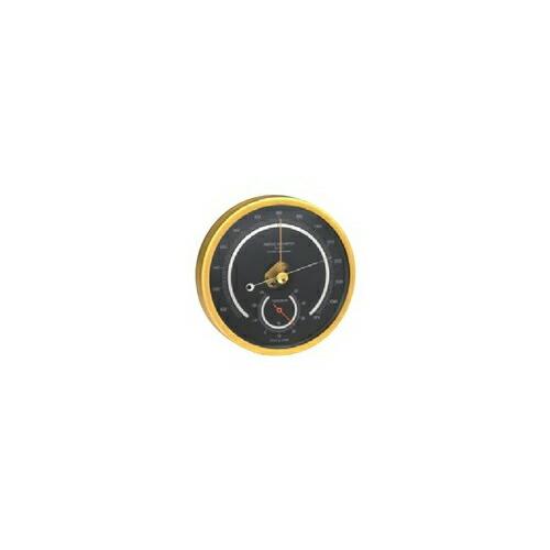 アネロイド気圧計 一般観測型 ゴールド OZ-11-GO [送料無料]