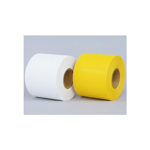 屋外路面仮ラインテープ サポートライン 黄 W150mm×46m サンコー企画 [送料無料]