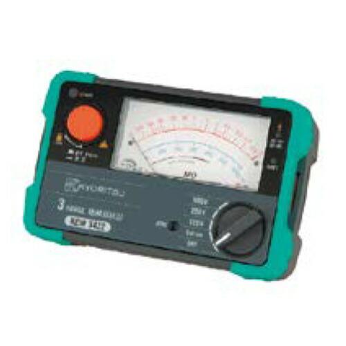 3レンジ絶縁抵抗計 250/500/1000V KEW3431 共立電気計器 [送料無料]