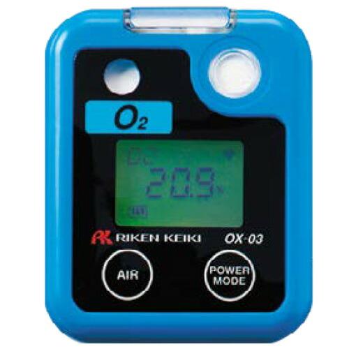 ポケッタブル酸素モニター OX-03 乾電池式 理研計器 [送料無料]