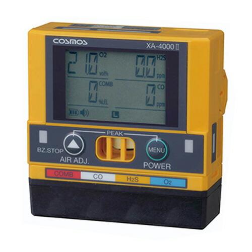 マルチ型ガス検知器 XA-4000 II シリーズ 4ガス XA-4400 II 新コスモス電機 [送料無料]