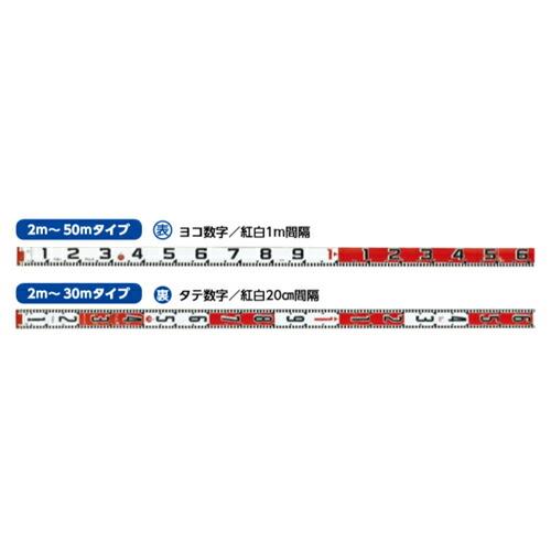 紅白ロッド60巾 30m テープのみ HK6-30T 表ヨコ1m/裏タテ20cm紅白 ハイビスカス [送料無料]