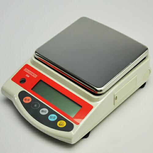 現場密度測定用電子天秤 12kg GM-12KH 最小目盛 0.5g (ACアダプタ別売) ハイビスカス [送料無料]