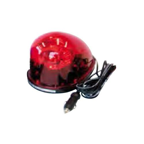 ハロゲン着脱式回転灯 着脱式回転灯/12V/赤 SRH-12R シバタ []