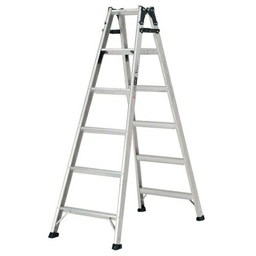 ステップ幅広 はしご兼用脚立 天板の高さ:1.70m MXB180FX アルインコ [送料無料]