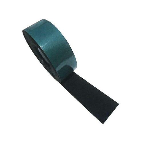 【送料無料】ラバークリップテープ 4巻 2t(本体1t・粘着テープ1t)×80W×10m アラオ