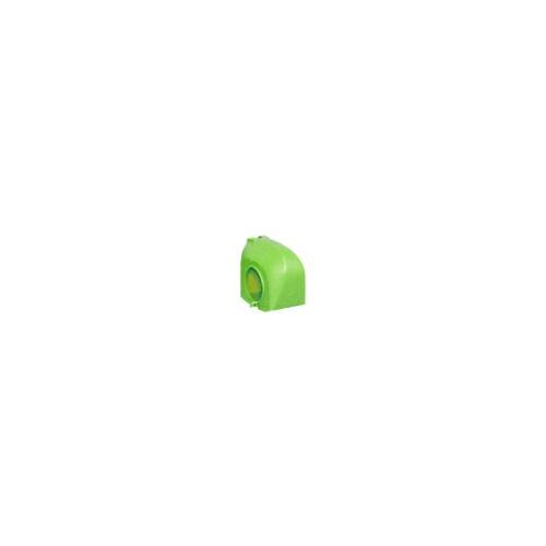 クランプカバー ハイカバー(硬質) グリーン 100個 アラオ [送料無料]