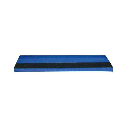 ネオステップ(階段養生) 養生テープ付 40枚 910×220×40mm 青 アラオ [送料無料]