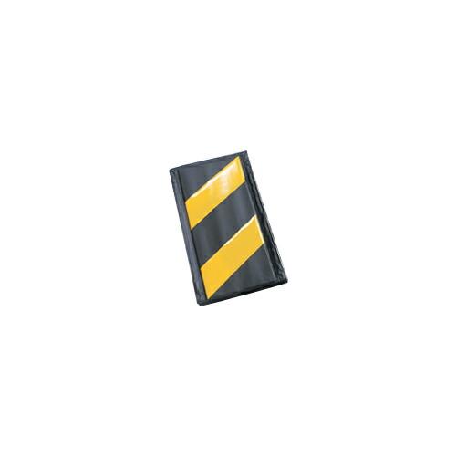 コーナーガード(反射タイプ) 10枚 270W×2,000L(うちクッション部220W) 黄/黒 アラオ [送料無料]