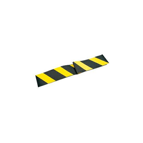 【送料無料】コーナーガード(Dタイプ) 20枚 200W×2,000L 黄/黒 アラオ