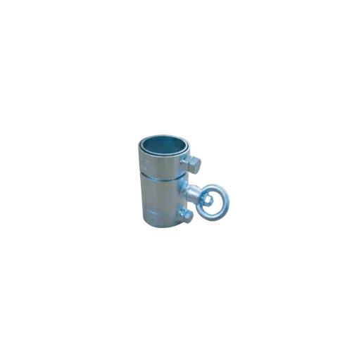 吹き流し用金具 10個 48.6φ単管用・100h(スチール) アラオ [送料無料]
