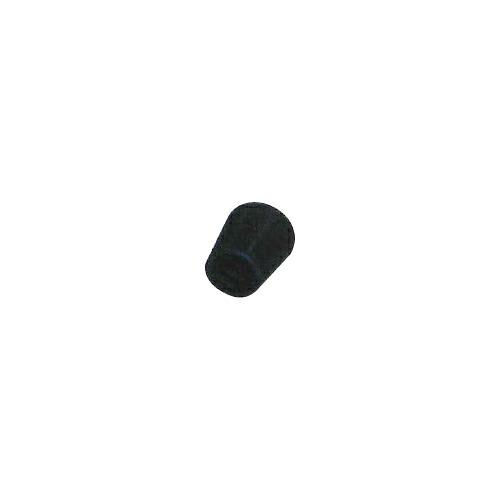 脚立足ゴム S・中 500個 28.6φ 黒 ゴム/座金入り アラオ [送料無料]