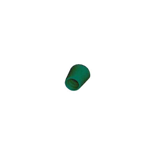 脚立足ゴム 新L型 300個 28.6φ 緑 ゴム/座金入り アラオ [送料無料]