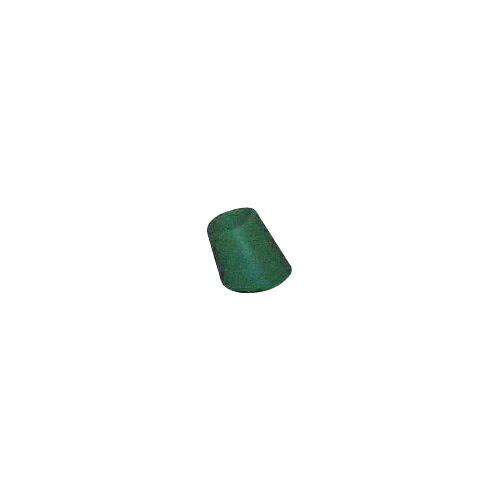 脚立足ゴム 斜型 200個 28.6φ 緑 ゴム/座金入り アラオ [送料無料]