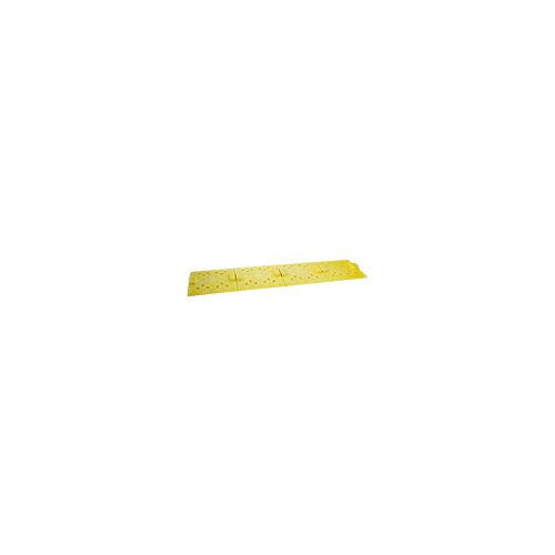 【送料無料】スペースカバー 20枚 250×250(42.7φ対応) 黄色 アラオ