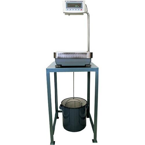 粗骨材比重測定装置 12kg/0.1g LG-704A [送料無料]