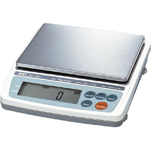 電子天秤EW-iシリーズ 170×133mm(計量皿寸法) EW-1500i [送料無料]