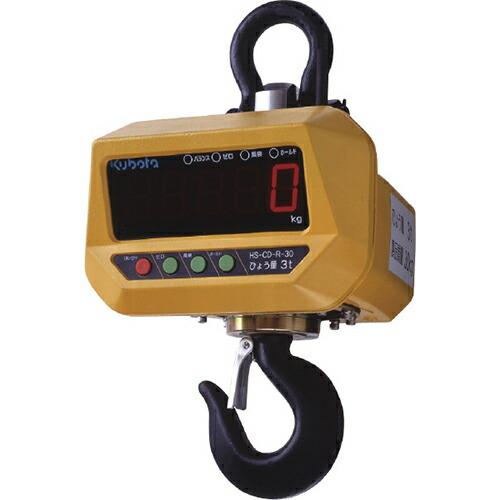 ホイストスケール(クレーンスケール) 0.5t/0.2kg(秤量/最小表示) HS-CD-05 [送料無料]