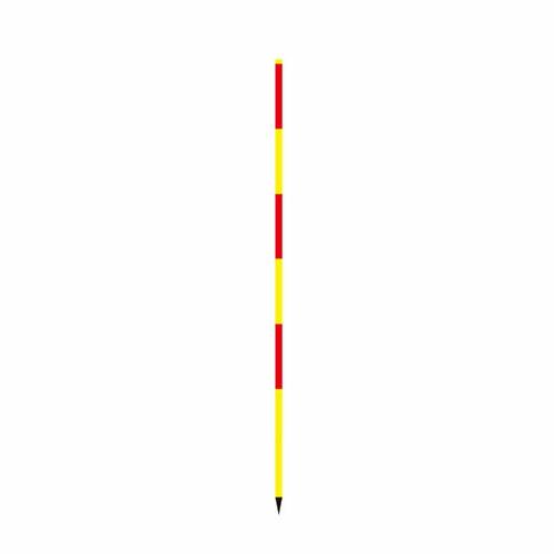 スノーポール 赤/黄 直2m SP-2SYR 40本セット 大平産業 [送料無料] [個人宅宅配不可]