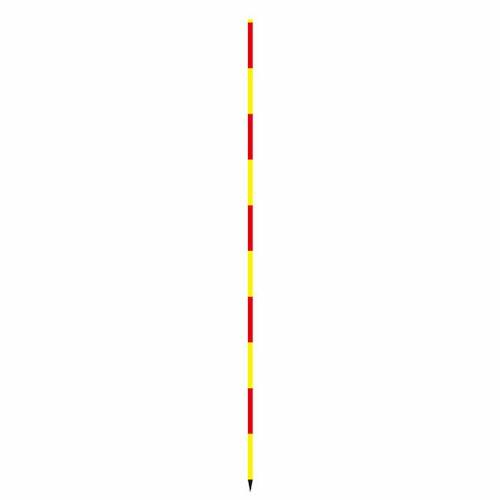 スノーポール 赤/黄 直3m SP-3SYR 30本セット 大平産業 [送料無料] [個人宅宅配不可]
