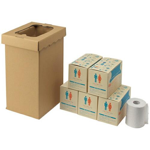 非常用トイレ袋 くるくるトイレ 100枚入 100回分 400-785 [送料無料]