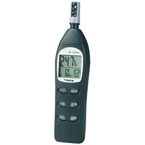 【送料無料】 デジタル温湿度計 MAX/MIN メモリ機能付 SK-120TRH 佐藤計量器