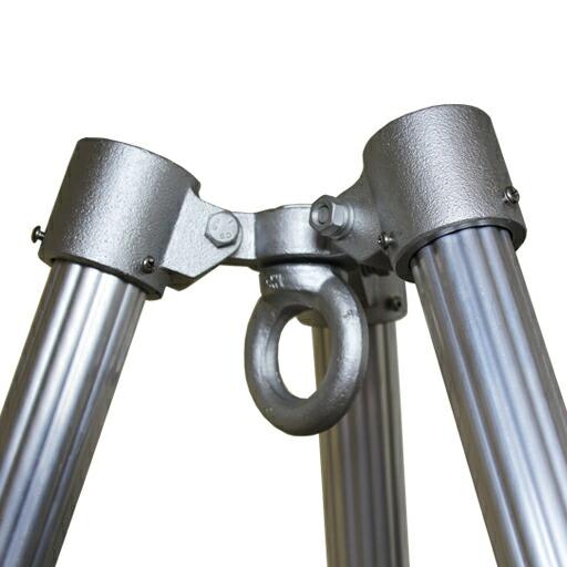 単管48.6φ用三脚ヘッド 耐荷重1.5t 大人気 海外限定 三脚ヘッド 3P-48.6 本体耐荷重1.5t ジョイント工業