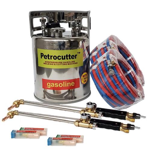 ペトロカッター(T10N30型)標準ツインセット ヨコカワコーポレーション【無加圧式ガソリン・酸素溶断トーチ】