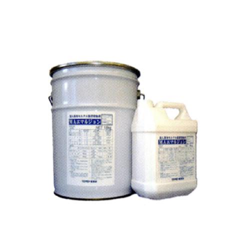 モルタル接着増強剤 MAエマルジョン 18kg石油缶 マツモト産業 混入塗布両用 [送料無料]