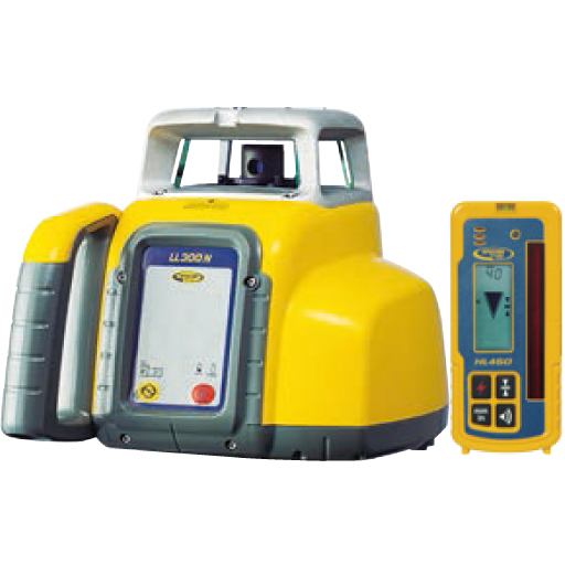 ニコン・トリンブル レーザーレベル LL300N/受光器HL450/クランプ(気泡管付)/三脚付 [送料無料]