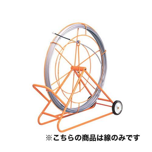 シルバーグラスライン (線径φ9mm 長さ300m) GW-0930 線のみ FRP製/PP被覆タイプ ジェフコム [送料無料]