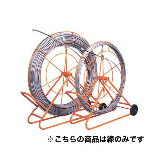 【送料無料】シルバーグラスライン (線径φ14mm 長さ300m) GW-1430 線のみ FRP製/PP被覆タイプ ジェフコム