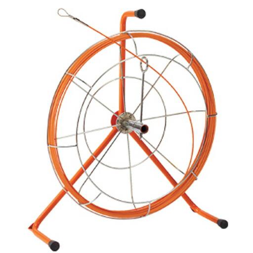 リール入り長尺タイプφ4 オレンジ 15m(ロッド+フレーム) JF-4015RS ジェフコム [送料無料]