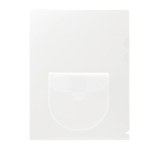 キャッシュレス5%還元店 プラス ディスクポケット付ホルダー10P FL-169HO メール便対象 感謝価格 - 超定番