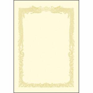 ササガワ OA賞状用紙 クリーム A3横書 10-1188