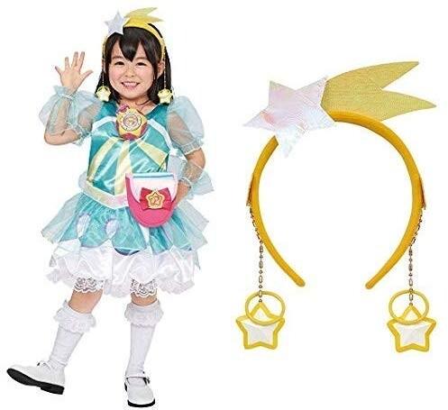 スター☆トゥインクルプリキュア 変身プリチューム キュアミルキー 95cm-115cm +アクセサリーセット