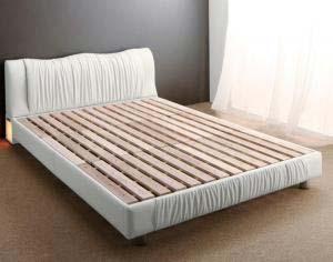 照明付き コンセント付き モダンデザイン ベッド Vesal ヴェサール ベッドフレームのみ シングルサイズ