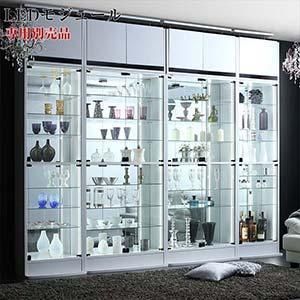 背面ミラー付き 壁面コレクション収納 専用別売品 LEDモジュール 壁面収納 ディスプレイラック フィギュア 棚 コレクションラック(代引不可)
