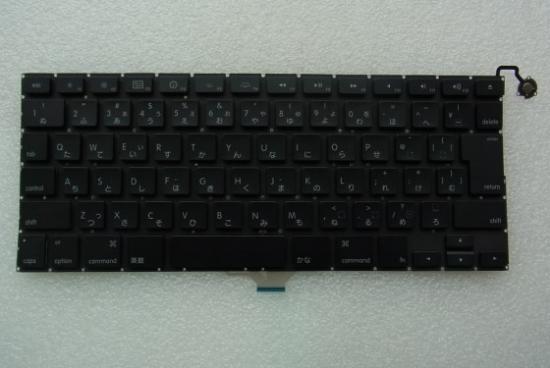 APPLE MACBOOK AIR A1304日本語 キーボード 黒