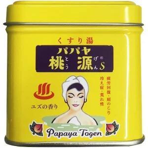 五洲薬品 チープ 入浴剤 パパヤ桃源S 新作通販 ユズ 70g
