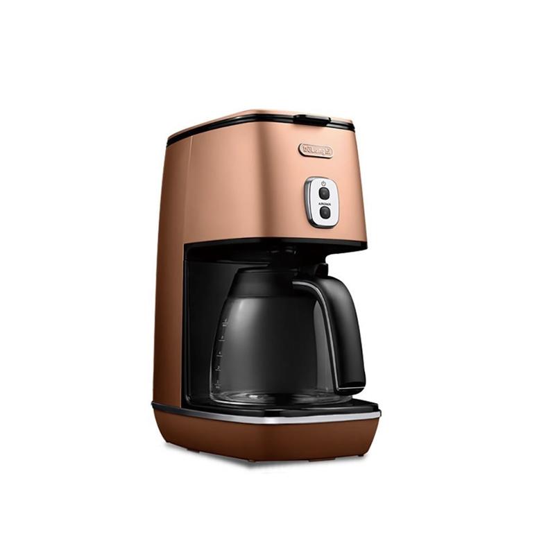 【8/15はエントリー&カード決済でポイント7倍】デロンギ ドリップコーヒーメーカー ICMI011J-CP
