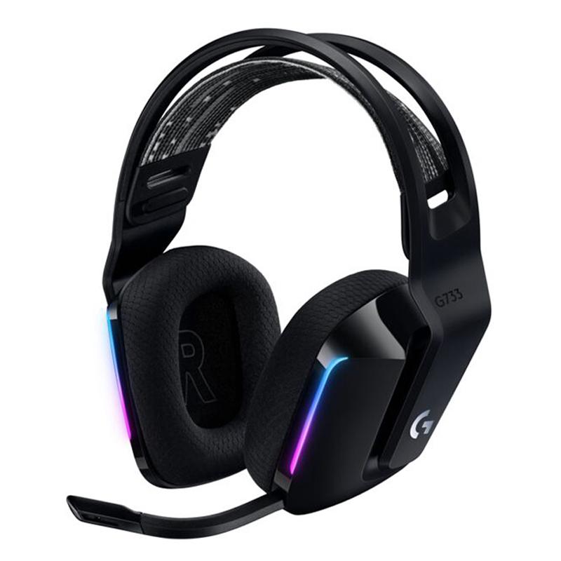 特別セール品 ロジクール Logicool 正規品スーパーSALE×店内全品キャンペーン ゲーミングヘッドセット G733 Wireless RGB LIGHTSPEED G733-BK